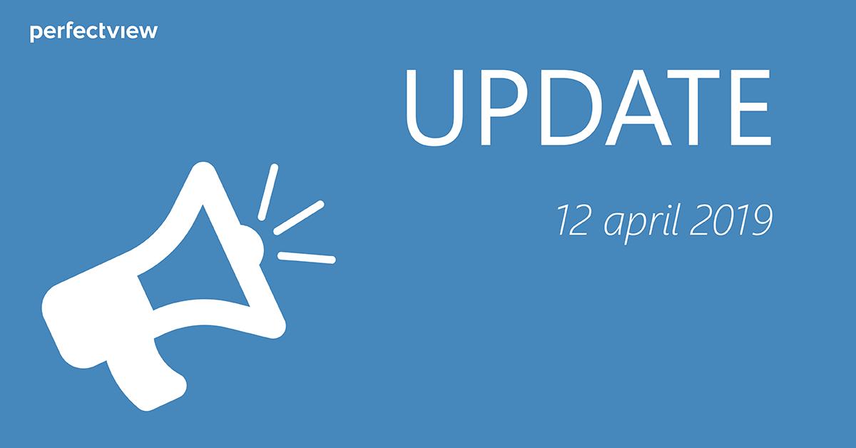 Blog Update april 2019